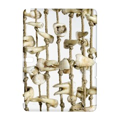 Hanging Human Teeth Dentist Funny Dream Catcher Dental Samsung Galaxy Note 10.1 (P600) Hardshell Case by yoursparklingshop