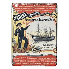 Vintage Advertisement British Navy Marine Typography Ipad Air Hardshell Cases by yoursparklingshop