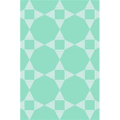 Mint Color Star   Triangle Pattern 5 5  X 8 5  Notebooks by picsaspassion