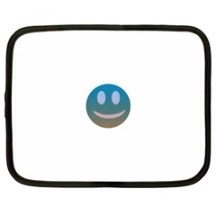 Smiley Netbook Case (Large) by picsaspassion