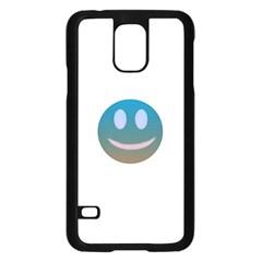 Smiley Samsung Galaxy S5 Case (Black) by picsaspassion
