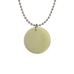 Summer sand color lilac stripes Button Necklaces by picsaspassion