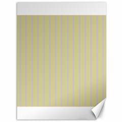 Summer Sand Color Lilac Stripes Canvas 36  X 48   by picsaspassion