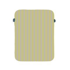Summer Sand Color Lilac Stripes Apple Ipad 2/3/4 Protective Soft Cases by picsaspassion