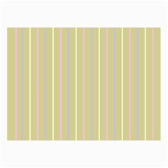 Summer Sand Color Lilac Pink Yellow Stripes Pattern Collage Prints by picsaspassion