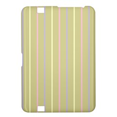 Summer Sand Color Lilac Pink Yellow Stripes Pattern Kindle Fire Hd 8 9  by picsaspassion