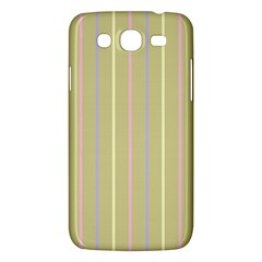 Summer Sand Color Lilac Pink Yellow Stripes Pattern Samsung Galaxy Mega 5 8 I9152 Hardshell Case  by picsaspassion