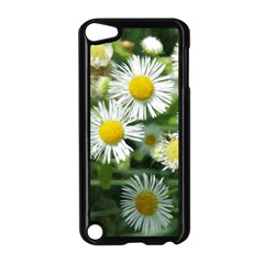 White Summer Flowers, Watercolor Painting Apple Ipod Touch 5 Case (black) by picsaspassion