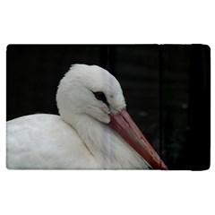 Wild Stork Bird Apple Ipad 3/4 Flip Case by picsaspassion