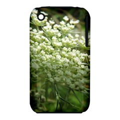 White summer flowers Apple iPhone 3G/3GS Hardshell Case (PC+Silicone) by picsaspassion