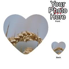 Cornfield Multi Purpose Cards (heart)  by picsaspassion