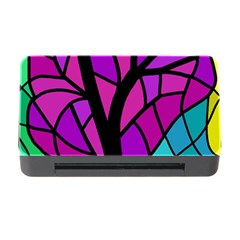 Decorative Tree 2 Memory Card Reader With Cf by Valentinaart