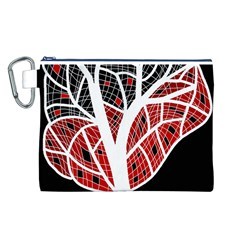 Decorative Tree 3 Canvas Cosmetic Bag (l) by Valentinaart
