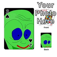 Alien By Moma Playing Cards 54 Designs  by Valentinaart