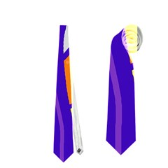 Decorative Tree 4 Neckties (two Side)  by Valentinaart