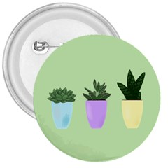 Succulents 3  Buttons by itsybitsypeakspider