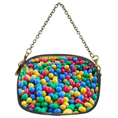 Funny Colorful Red Yellow Green Blue Kids Play Balls Chain Purses (two Sides)  by yoursparklingshop