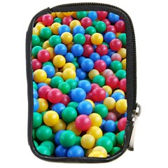 Funny Colorful Red Yellow Green Blue Kids Play Balls Compact Camera Cases by yoursparklingshop
