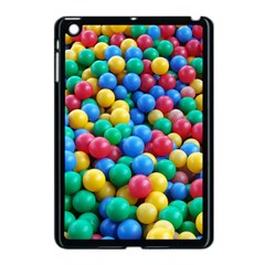 Funny Colorful Red Yellow Green Blue Kids Play Balls Apple Ipad Mini Case (black) by yoursparklingshop