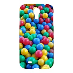Funny Colorful Red Yellow Green Blue Kids Play Balls Samsung Galaxy S4 I9500/i9505 Hardshell Case by yoursparklingshop