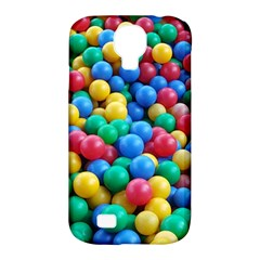 Funny Colorful Red Yellow Green Blue Kids Play Balls Samsung Galaxy S4 Classic Hardshell Case (pc+silicone) by yoursparklingshop