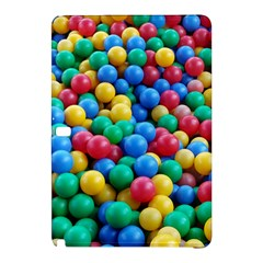 Funny Colorful Red Yellow Green Blue Kids Play Balls Samsung Galaxy Tab Pro 12 2 Hardshell Case by yoursparklingshop
