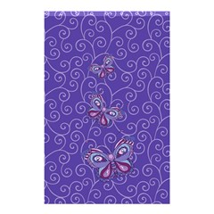 Butterfly Shower Curtain 48  X 72  (small)  by olgart