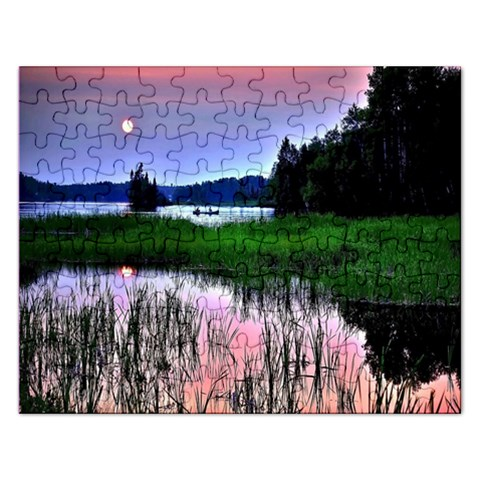 Sunset Puzzle  :   Puzzle By Pamela Sue Goforth   Jigsaw Puzzle (rectangular)   E41yxljvr6u0   Www Artscow Com Front