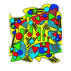 Colorful Chaos Shower Curtain 60  X 72  (medium)  by Valentinaart