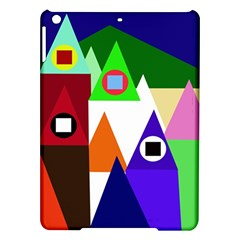 Colorful Houses  Ipad Air Hardshell Cases by Valentinaart