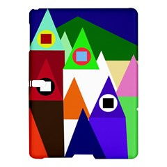 Colorful Houses  Samsung Galaxy Tab S (10 5 ) Hardshell Case  by Valentinaart