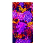 Purple Painted Floral and Succulents Shower Curtain 36  x 72  (Stall)