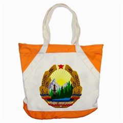 National Emblem Of Romania, 1965 1989  Accent Tote Bag by abbeyz71