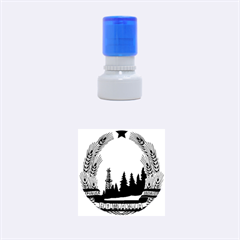 National Emblem Of Romania, 1965 1989  Rubber Round Stamps (small) by abbeyz71