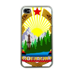 National Emblem Of Romania, 1965 1989  Apple Iphone 4 Case (clear) by abbeyz71