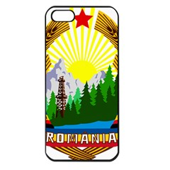 National Emblem Of Romania, 1965 1989  Apple Iphone 5 Seamless Case (black) by abbeyz71