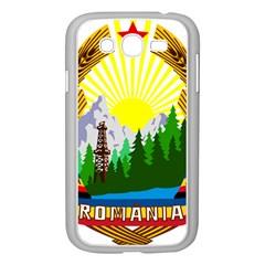 National Emblem Of Romania, 1965 1989  Samsung Galaxy Grand Duos I9082 Case (white) by abbeyz71
