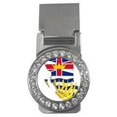 Flag Map of British Columbia Money Clips (CZ)  by abbeyz71