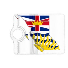 Flag Map Of British Columbia Kindle Fire Hd (2013) Flip 360 Case by abbeyz71