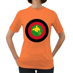 Roundel Of Papua New Guinea Air Operations Element Women s Dark T Shirt by abbeyz71