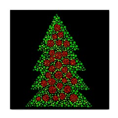 Sparkling Christmas Tree Tile Coasters by Valentinaart