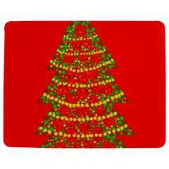 Sparkling Christmas tree - red Jigsaw Puzzle Photo Stand (Rectangular)