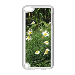 Wild Daisy Summer Flowers Apple Ipod Touch 5 Case (white) by picsaspassion