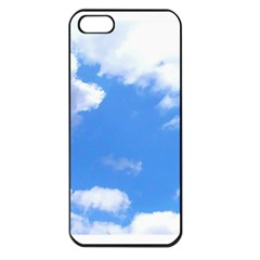 Summer Clouds And Blue Sky Apple Iphone 5 Seamless Case (black) by picsaspassion