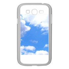 Summer Clouds And Blue Sky Samsung Galaxy Grand Duos I9082 Case (white) by picsaspassion