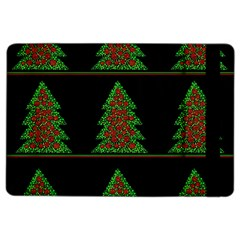 Christmas Trees Pattern Ipad Air 2 Flip by Valentinaart