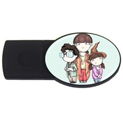 Halloweentown Usb Flash Drive Oval (4 Gb)  by lvbart