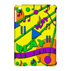 Music Apple Ipad Mini Hardshell Case (compatible With Smart Cover) by Valentinaart