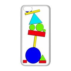 Balance  Apple Iphone 5c Seamless Case (white) by Valentinaart