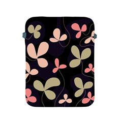 Elegant floral design Apple iPad 2/3/4 Protective Soft Cases by Valentinaart
